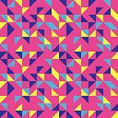 Bright Pink Pop Pattern