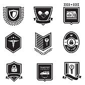 Handshake insurance badges