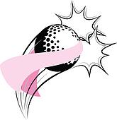 Golf Breast Cancer Pow