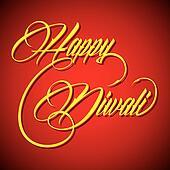 Creative text - Happy Diwali