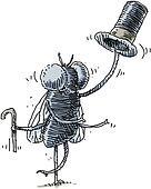 Dapper Housefly
