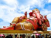 ganesh is biggest in the world, chachoengsao in thailand