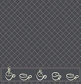 Coffee wallpaper design