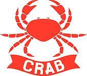 crab label