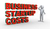 3d man business startup costs confusion