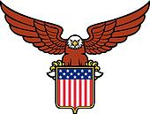 American eagle (usa shield)