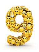 Emoticons number 9