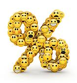 Emoticons  percent sign