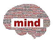 Mind conceptual symbol design