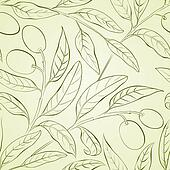 Olive background.