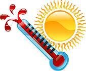 Weather icon clipart illustration