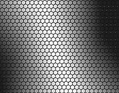 Bee hive metal background