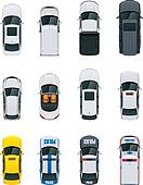 Vector cars set