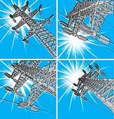 Power Transmission Line, vector