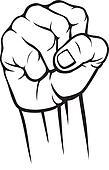 Shaking Fist Clip Art
