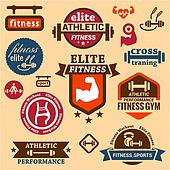 fitness labels