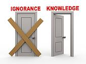 3d ignoranceand knowledge doors