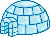 illustration of a igloo