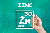 Symbol for the chemical element zinc