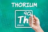 Symbol for the chemical element thorium