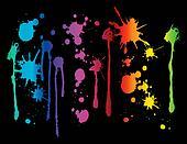 Spectrum Paint Splatter