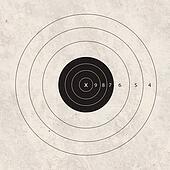 shoot target empty
