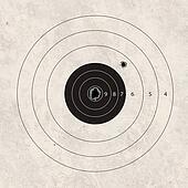 shoot target missig one