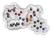 Darunavir HIV drug (protease inhibitor class), chemical structur