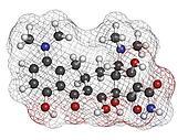 Minocycline antibiotic drug (tetracycline class), chemical struc