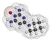 Minoxidil male pattern baldness (androgenic alopecia) drug, chem