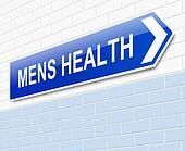 Mens Health sign.