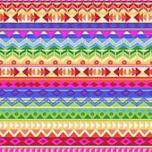 rainbow Aztec stripe