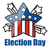 Election Day Clip Art - Royalty Free - GoGraph