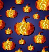 Halloween seamless pattern background. EPS10 file.