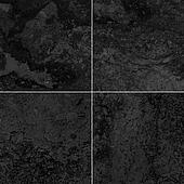 Four black marble texture