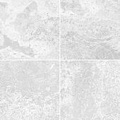 Four white marble texture