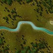 river and forest background