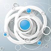 White Rings Blue Circles Magic Triangle Centre