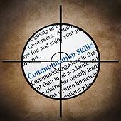 Communication skills target