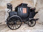 Old black wagon