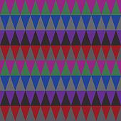Warm triangles pattern
