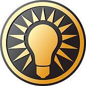 light bulb Icon (light bulb button)