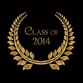 class of 2014 gold laurel