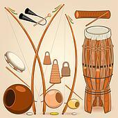Brazilian Capoeira Music Instrument