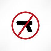 No firearms symbol