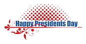 Happy Presidents Day Text Greeting