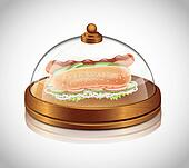Restaurant Transparent Lid With Hot
