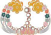 art vintage floral seamless pattern background