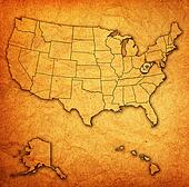 west virginia on map of usa