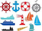 nautical and marine icons